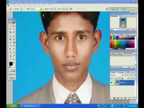 How To Make Passport Size Photo In Photoshop Bangla Tutorial