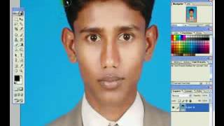 Photoshop Tutorial How to create a passport size photo Bangla voice By Md Nahid