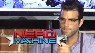 conversation with zachary quinto and friends nerd hq 2011 hd zachary levi
