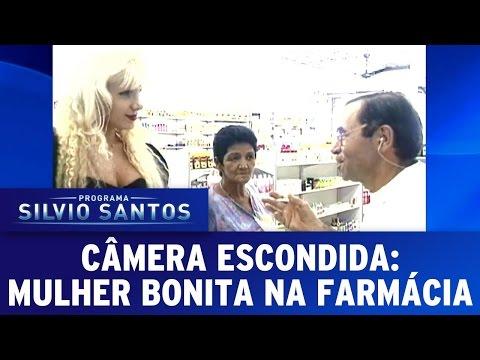 Mulher bonita na farmácia | Câmera Escondida (05/03/17)