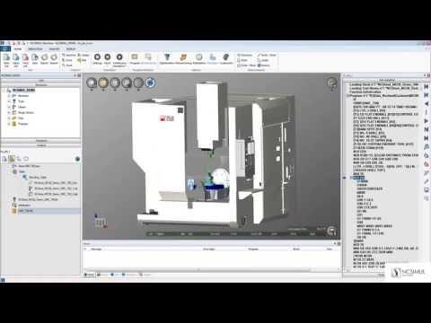 Import a machine & project in NCSIMUL Machine | Tutorial