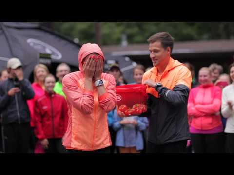 Nike Riga Run: ice bucket challenge! 28.8.2014