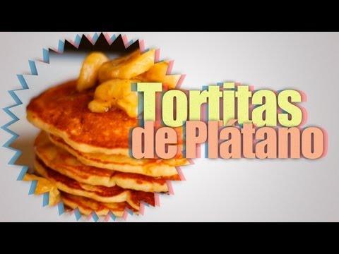 Tortitas de Plátano (Banana Pancakes) SIN HARINA