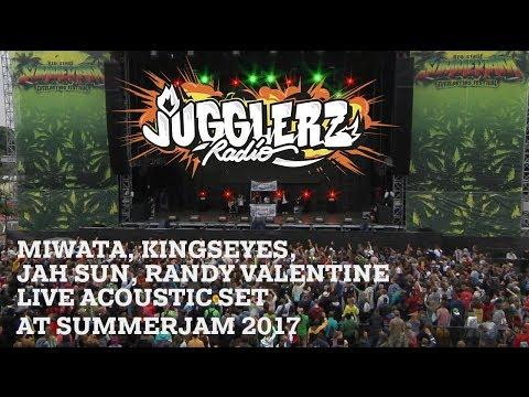 Miwata, Randy Valentine, Jah Sun, Randy Valentine live at Jugglerz Radio at SUMMERJAM FESTIVAL 2017