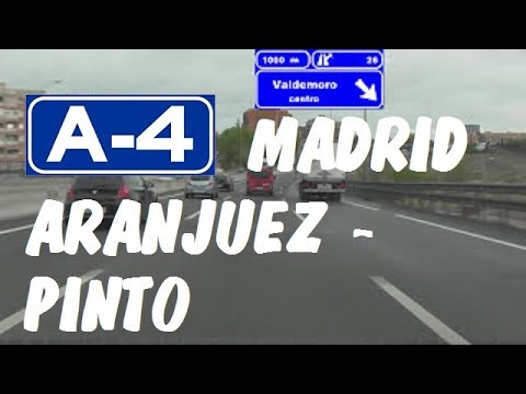 A-4 Madrid , Autovía del Sur , Tramo Aranjuez - Pinto / South of Madrid - Highways in Spain