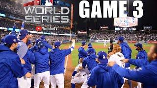 Inside Dodger Stadium: WS Game 3 goes 18 innings