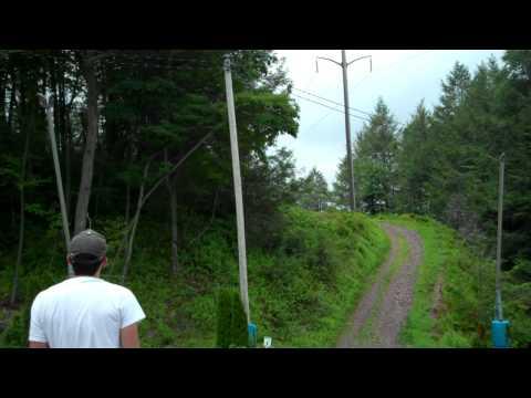 Blue Mountain (Skyline Park) Disc Golf (Am Tees) - Danielsville, PA (720p)