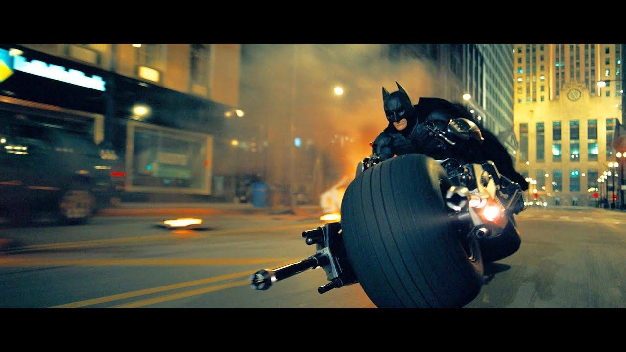 Download The dark knight batman entry with bike(hindi)