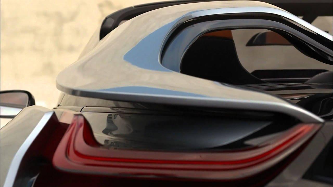 I8 Exterior: BMW I8 Spyder Concept Exterior