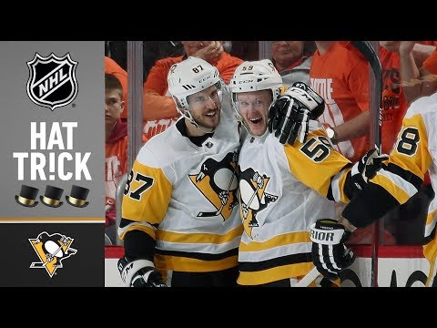 Jake Guentzel leads Penguins to series win with four straight goals
