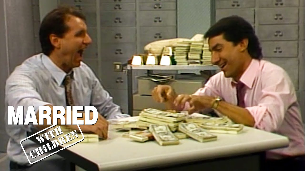 Steve & Al In A Bank Vault | Married With Children
