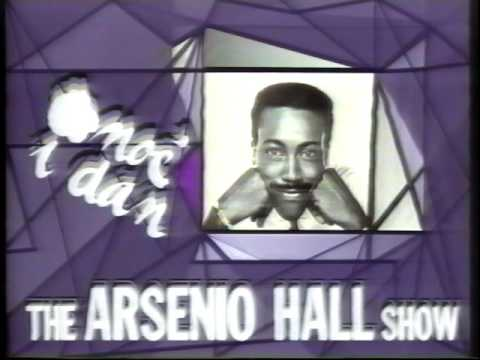 Vlade Divac on Arsenio Hall