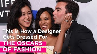 how one designer preps for the oscars of fashion racked