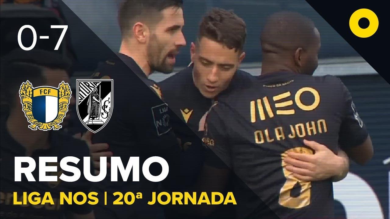 Фамаликан  0-7  Витория Гимарайнш видео