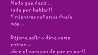 * A escondidas * (Sergio Rivero)