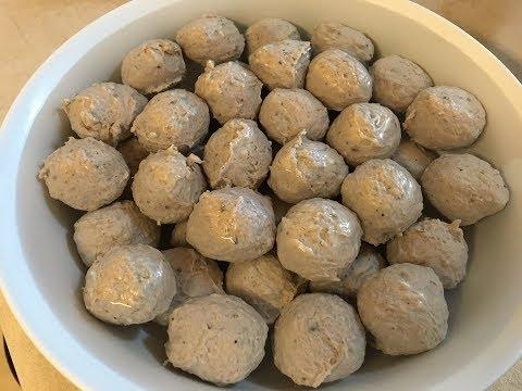 How to make homemade beef meatballs