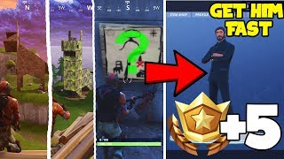 Fortnite Battle Royale Rank Up Battle Pass FAST! (Llama, Fox, Crab, Secret Treasure Hunt SOLVED)