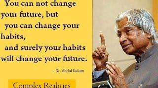 Dr. A. P. J. Abdul Kalam Short Inspirational Speech