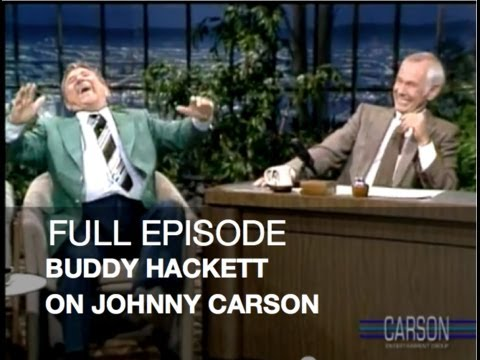 JOHNNY CARSON FULL EPISODE: Buddy Hackett, John Lithgow, Moron Movies, Tonight S, ...