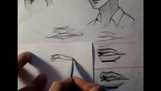 Немного про то как рисовать рот и губы(Думаю хороший урок получится, если кто-то пришлет ссылку на свою работу вконтакте, а я расскажу про ошибки..., 2013-09-18T21:31:13.000Z)