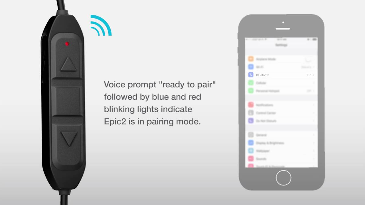 558ebacb5c7 Bluetooth Pairing to Your Phone or Device by JLab Audio - YouTube