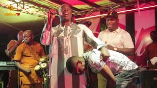 K1 DE ULTIMATE PRAYS FOR SMALL DOCTOR WHILE PERFORMING AT SIDEWALK LOUNGE VI