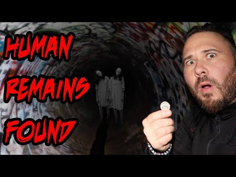 (HUMAN REMAINS!) SISTER SISTER CHALLENGE IN HAUNTED FAZE RUG TUNNEL