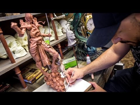 Sideshow Collectibles Behind the Scenes: Sculpting and Painting