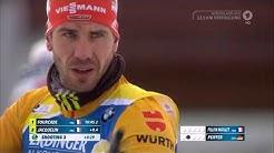 Biathlon 2020 in Kontiolahti - Verfolgung der Herren - Martin Fourcades's letztes Rennen