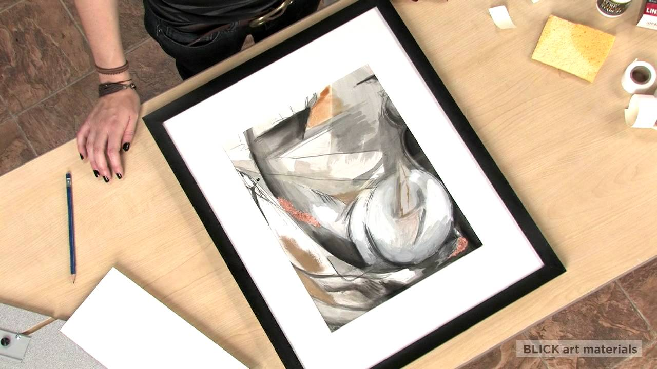 Tips on Framing Your Artwork - YouTube