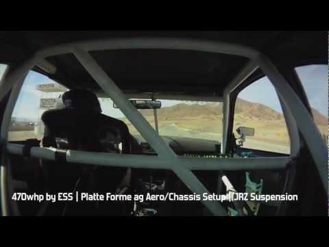 European Car Tuner GP 2012 | Platte Forme a.g. BMW M3 Fast lap around Street of Willow