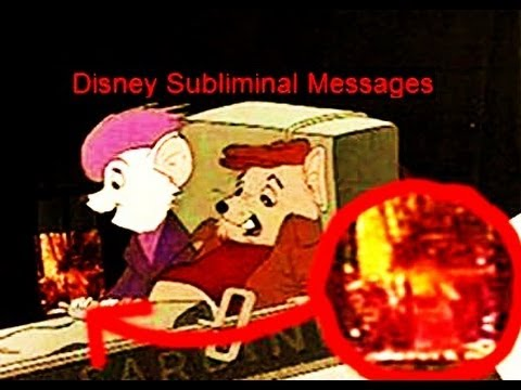 subliminal advertising in disney movies