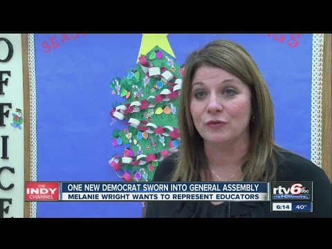 One new Democrat sworn into Ind. General Assembly