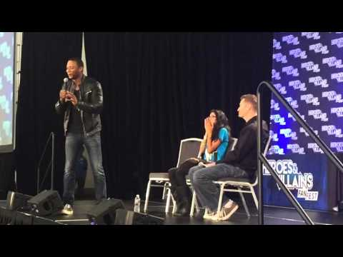 David Ramsey talks about a funny moment on set