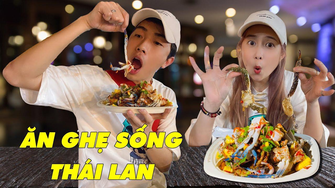ĂN GHẸ SỐNG THÁI LAN cùng CrisDevilGamer và Mai Quỳnh Anh   Tối nay ăn gì?