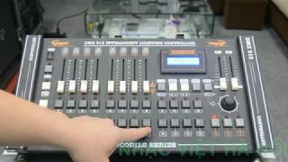 Hướng dẫn sử dụng bàn điều khiển DMX 2024 -phần 1