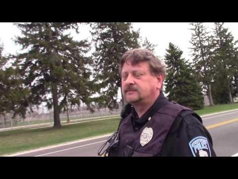 First Amendment audit Racine D.O.C.(Sturtevant Wisconsin) (Cop Said move on)