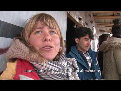 "Réfugiés de Calais : ""Hope Sweet Home"""