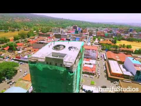 Nakuru From a Birds Eye