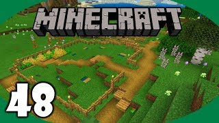 Vegetable and Wheat Farm! | Minecraft Survival Let's Play | Episode 48