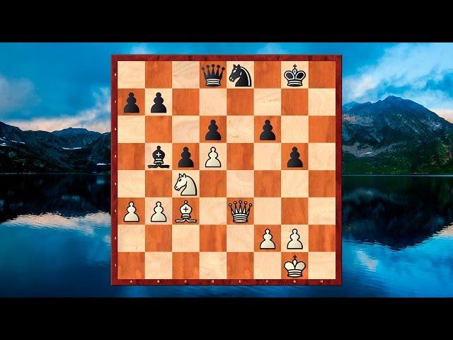 SZACHY - Fajna ko?cówka szachowa