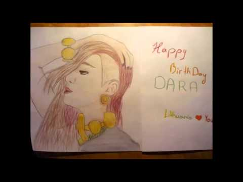 Dara Happy Birthday from Lithuania !