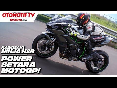 Ngegas Kawasaki Ninja H2R, Tenaganya Gila! l Otomotif TV