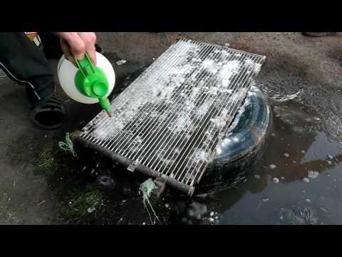 Самостоятельная промывка радиатора в домашних условиях