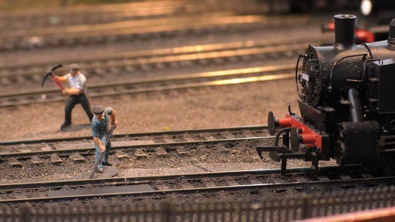 Discover The Fine Detail That Goes Into Model Railways Ahead Of An ...