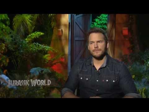 Jurassic World Cast Interview - Godzilla vs. Indominus Rex?