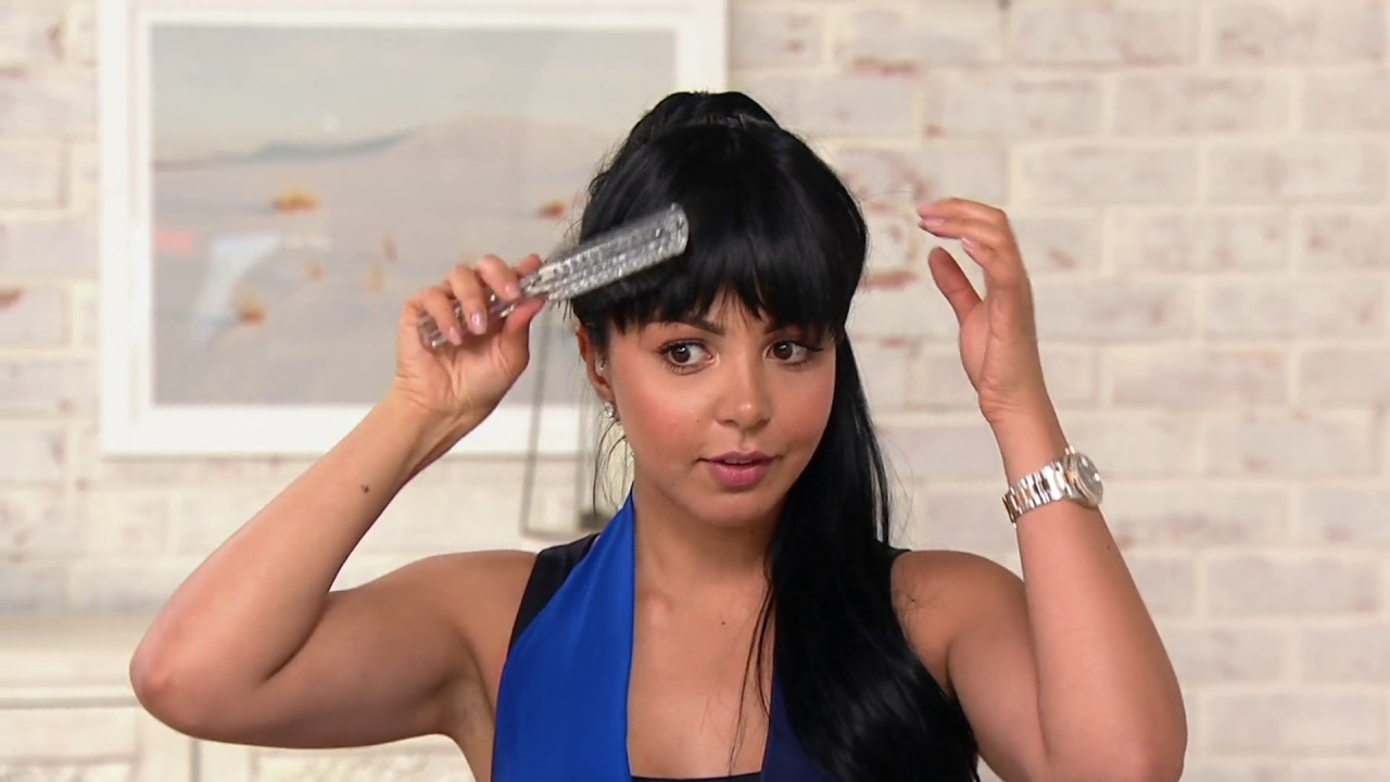 Bellami blunt style clip in seamless bangs on qvc youtube bellami blunt style clip in seamless bangs on qvc pmusecretfo Image collections