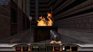 Duke Nukem 3D (100%) Walkthrough (E1L1: Hollywood Holocaust)