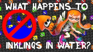Splatoon Theory - What Actually Happens to Inklings in Water?