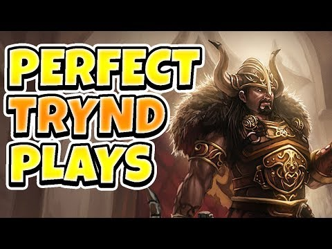 PERFECT TRYNDAMERE PLAYS! HOW TO NEVER DIE!! - League of Legends Full Gameplay